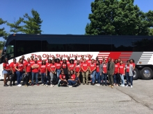 the ohio state graduate school  ohio state students help needy families
